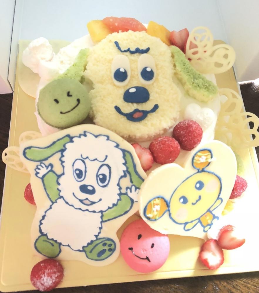 江別市パティスリーらじゅゆなのオリジナルケーキ