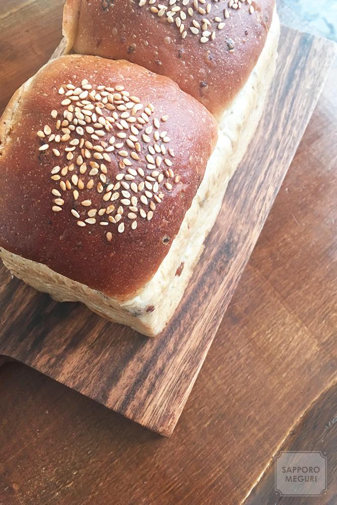 札幌 清田 パン ドルチェヴィータ 渋皮栗の山食パン