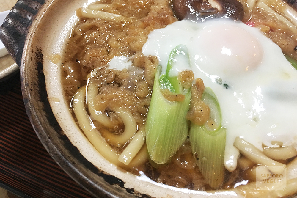 札幌 満月食堂 手稲 発寒 新発寒 定食 ランチ 鍋焼きうどん 西区