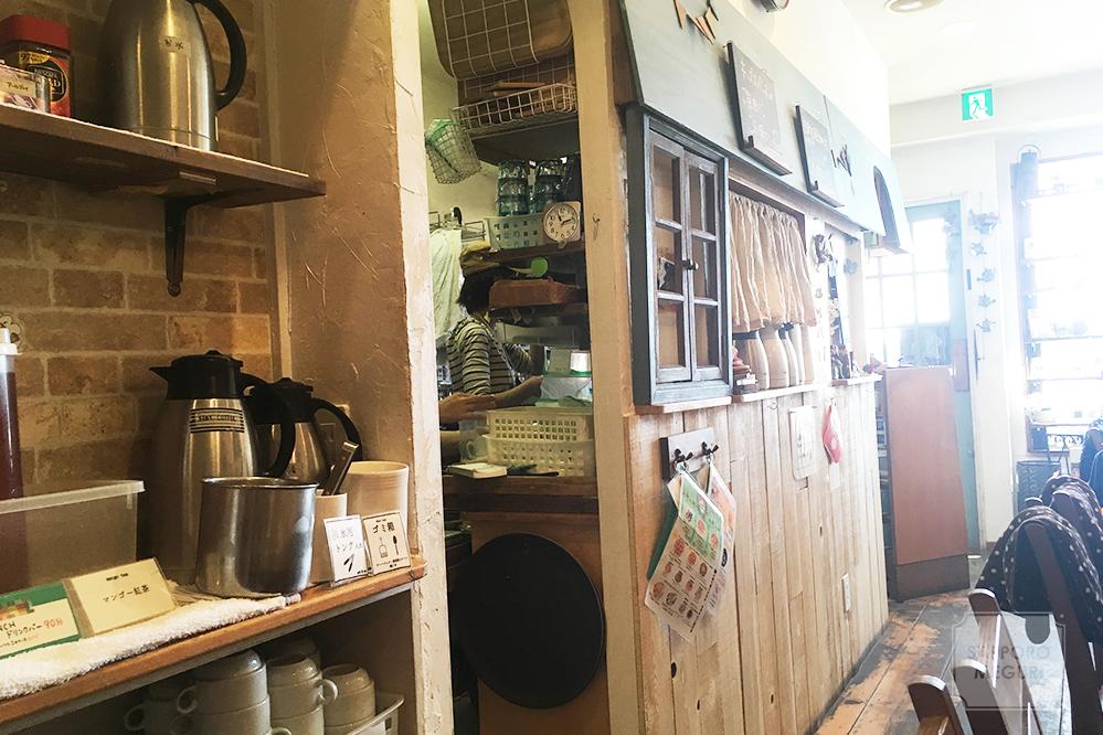 カフェリーノのキッチン