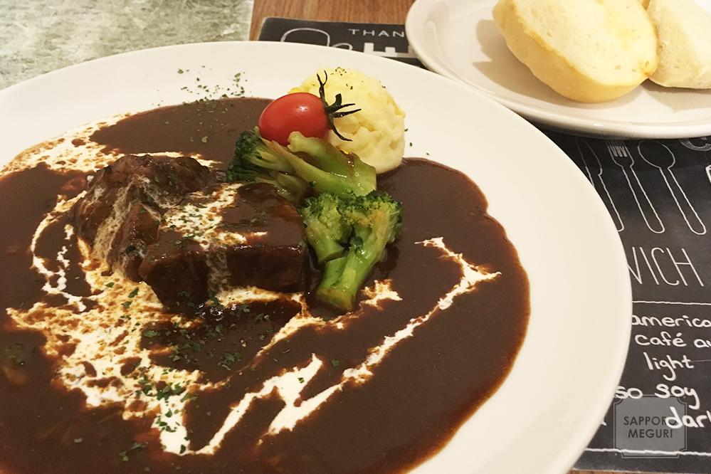 金のオーブンの道産牛のデミシチュー
