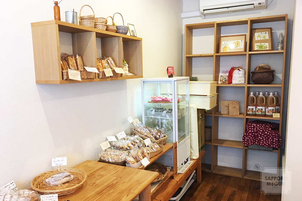 豊平区のパン屋さんMichiの焼き菓子