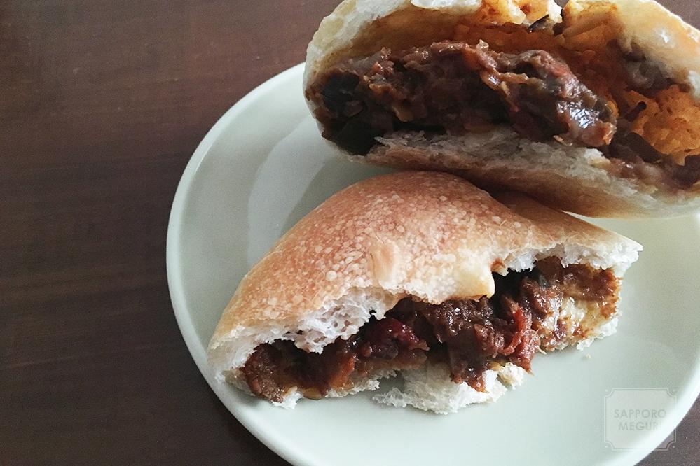 豊平区のパン屋さんMichiのオーガニックカレーパン