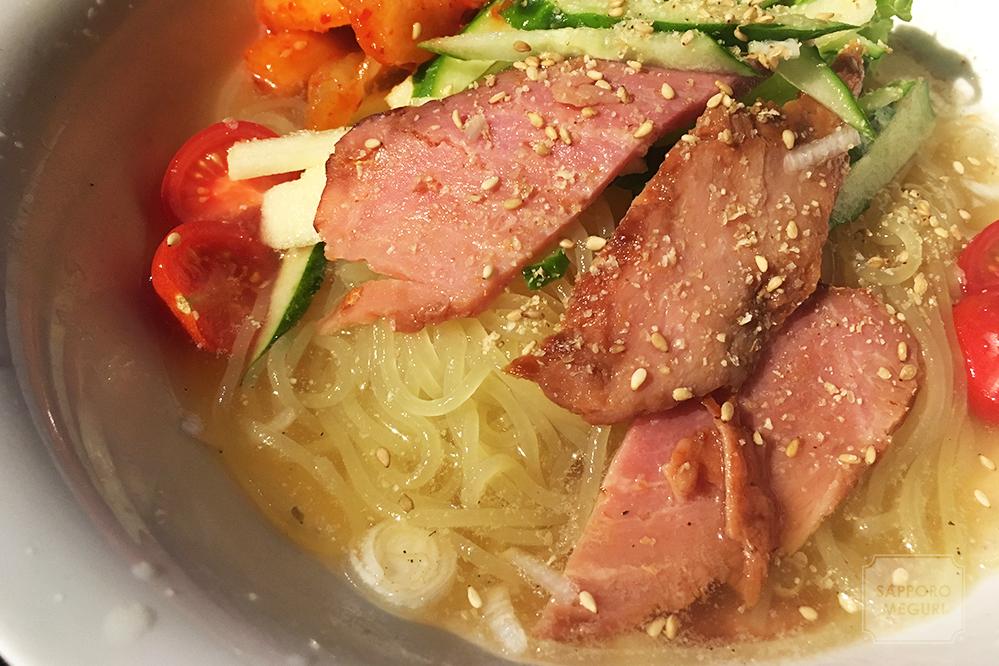 札幌十楽総本家の盛岡冷麺