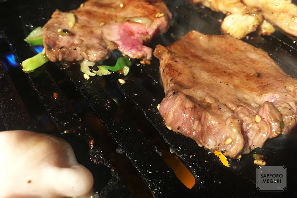 札幌十楽総本家の肉と野菜