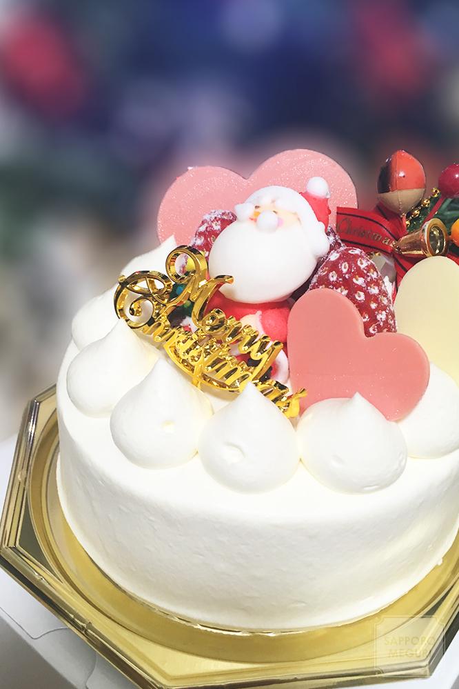 ケーキアンドカフェコレット本店のクリスマスケーキ