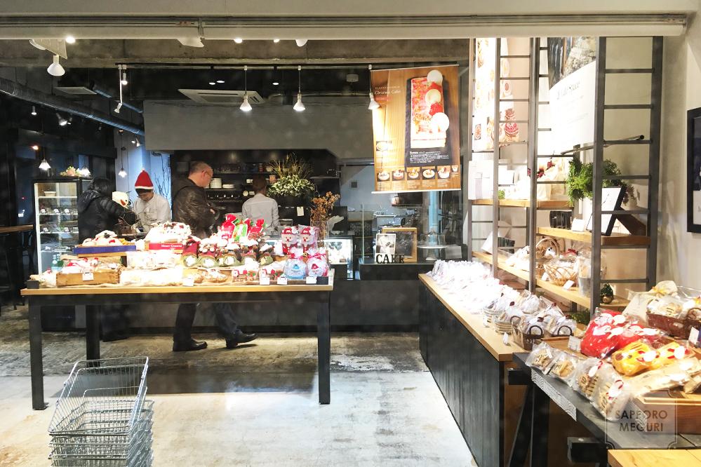 ケーキアンドカフェコレット本店の店内