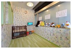 医療法人二期会歯科クリニックの託児室