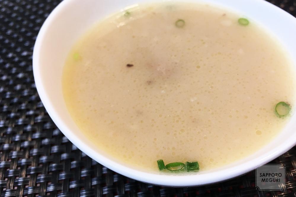 クリスタルジョジョ美園本店のスープ