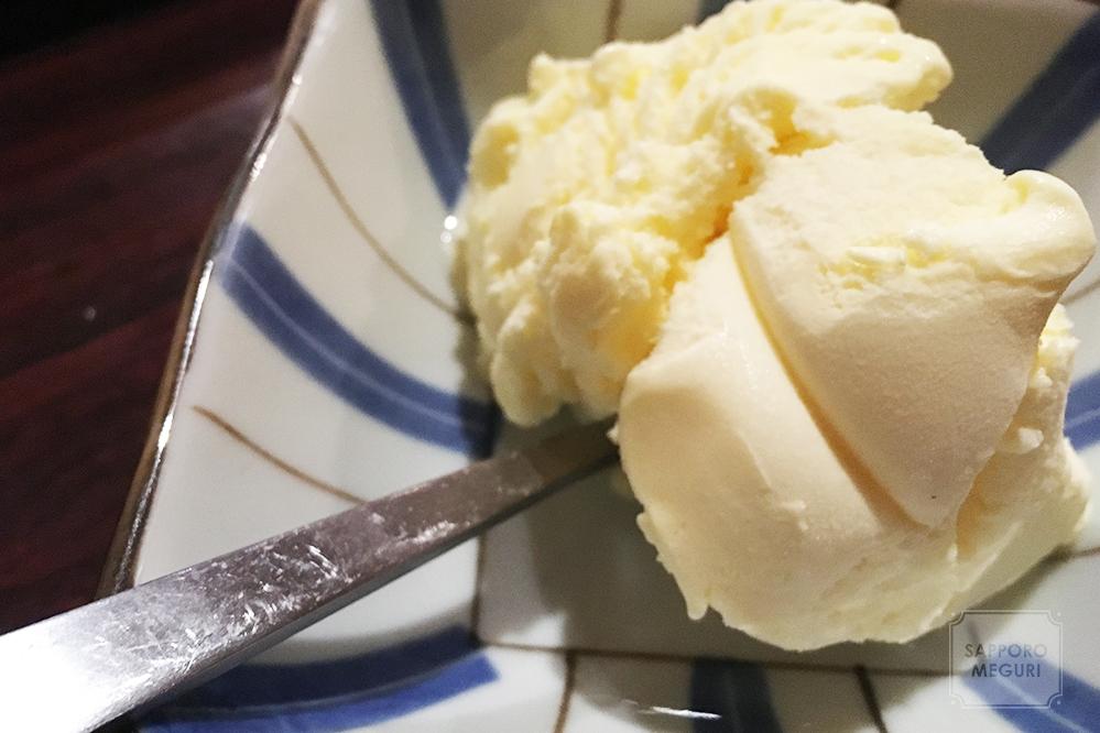 美園の酒場笑平のアイスクリーム