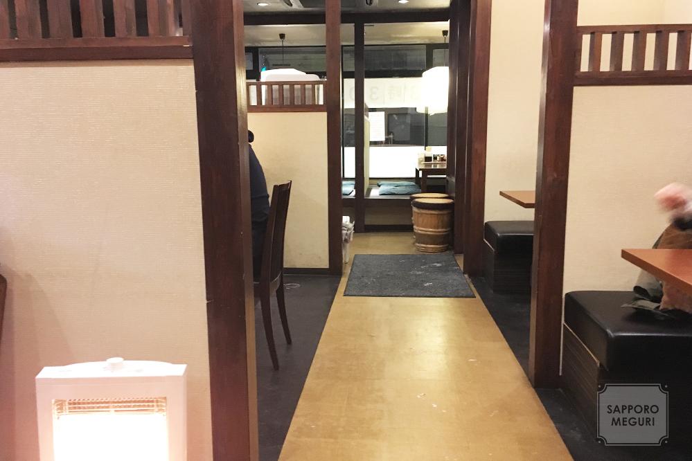 田所商店札幌平岸店の内装
