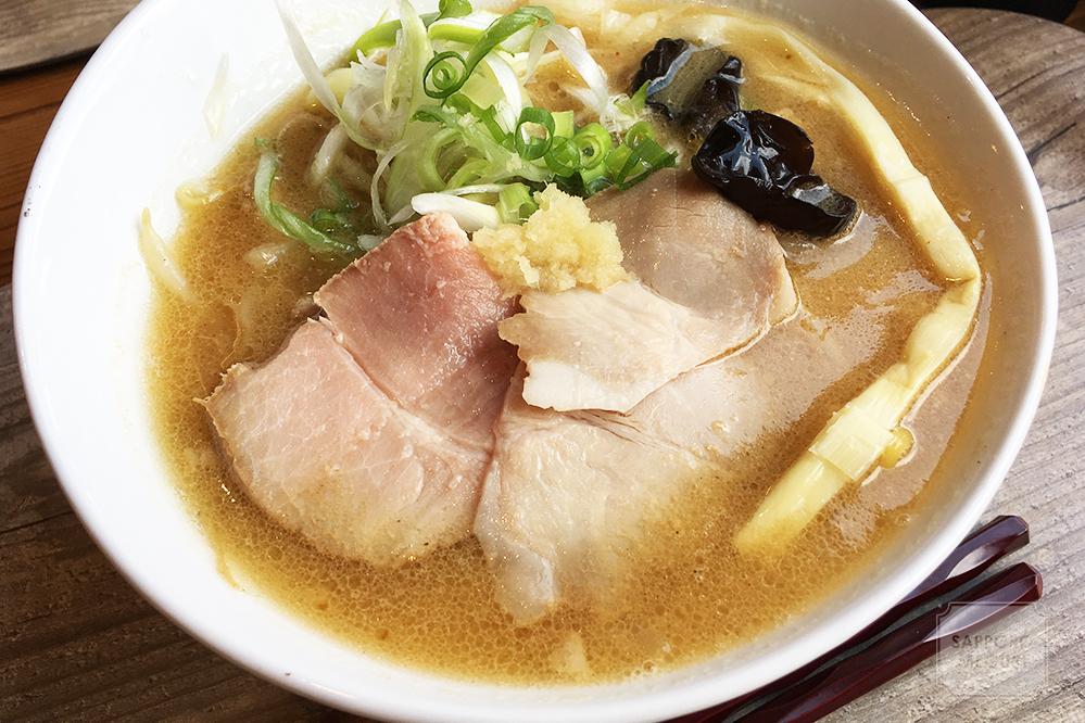 Shin.煮干専門月寒店の味噌ラーメン