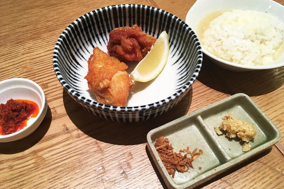 銀座篝札幌店のランチセット