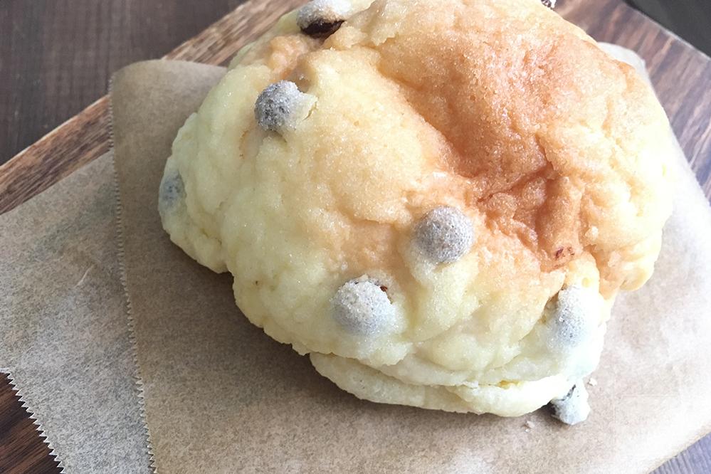 ぱん工房ひだまりのチョコチップメロンパン