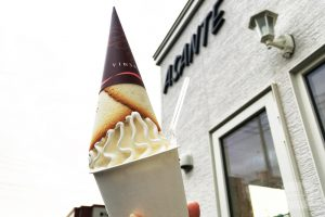 野幌 アサンテ ASANTE クレミア ソフトクリーム アイス デザート スイーツ