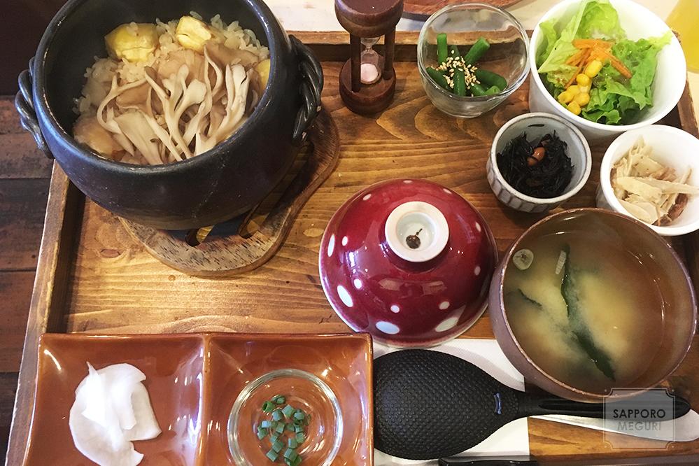 清田 札幌 子連れ カフェ リーノ 土鍋 ワッフル cafe Rino