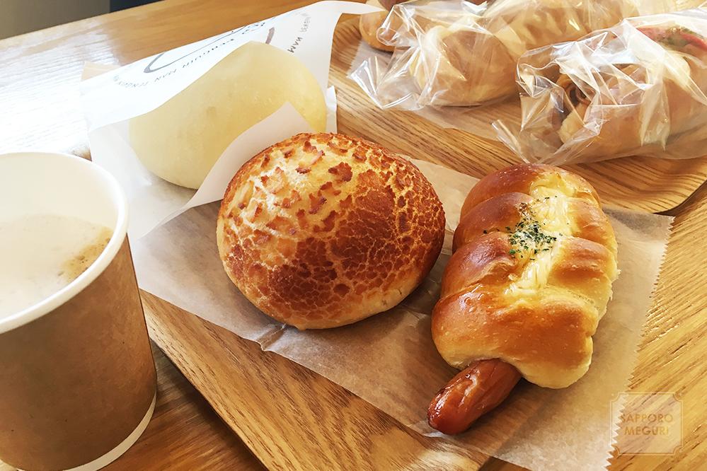岩見沢 パン ペンギン ぶたパン ベーカリー カフェ