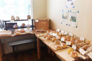 豊平区のパン屋さんMichiの内観