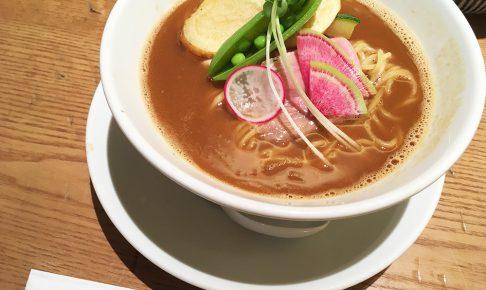 銀座篝札幌店の味噌soba
